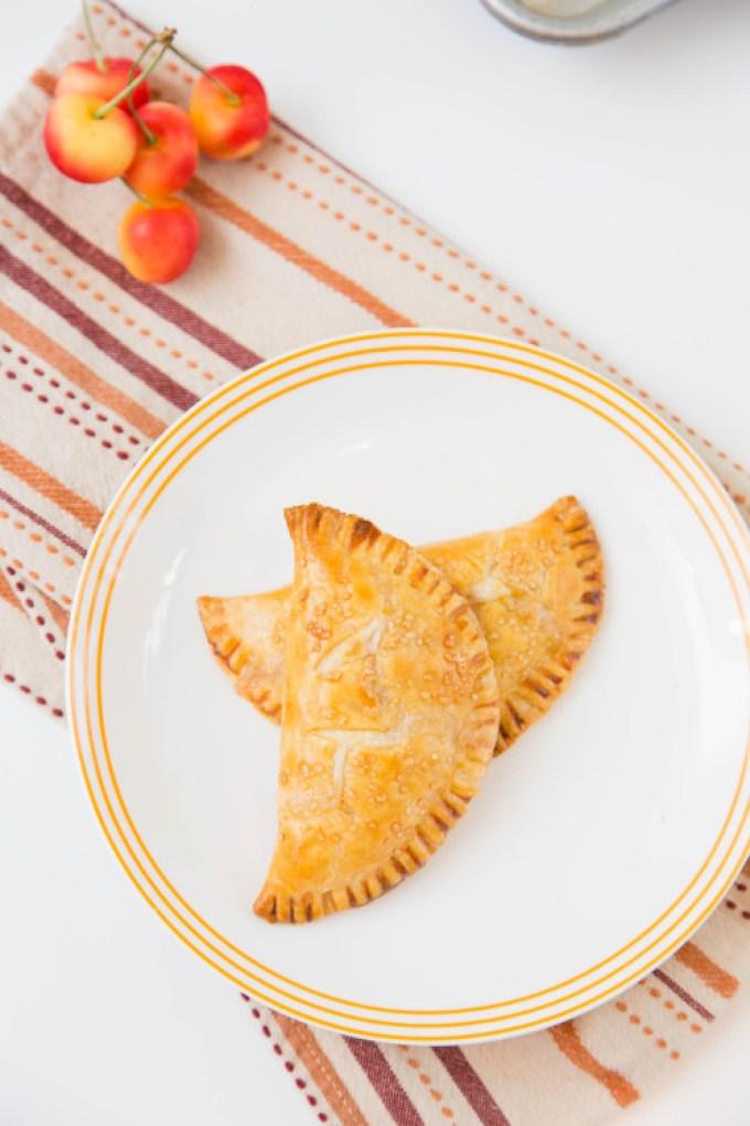 Rainier Cherry Cream Cheese Hand Pies 2  The Missing Lokness
