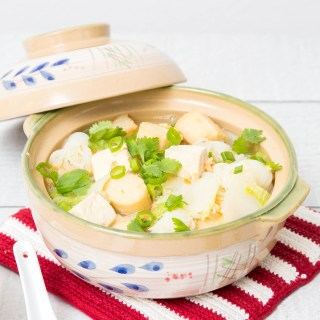 Easy Napa Cabbage Tofu Soup