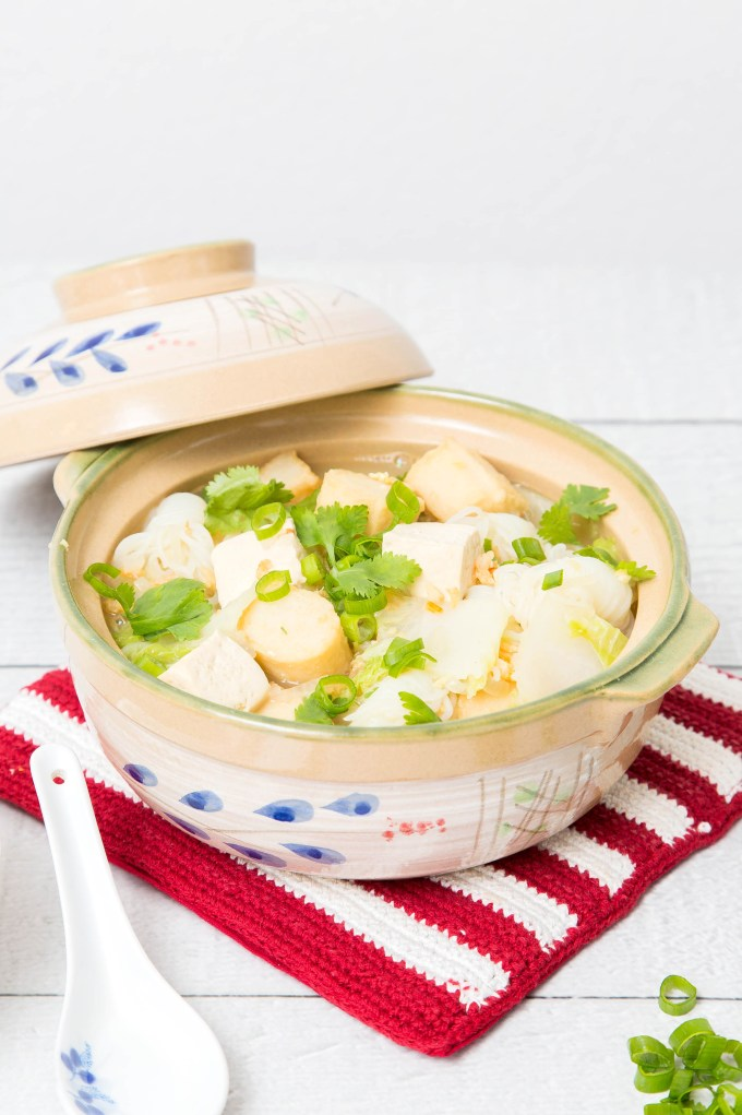 Easy Napa Cabbage Tofu Soup 5| The Missing Lokness