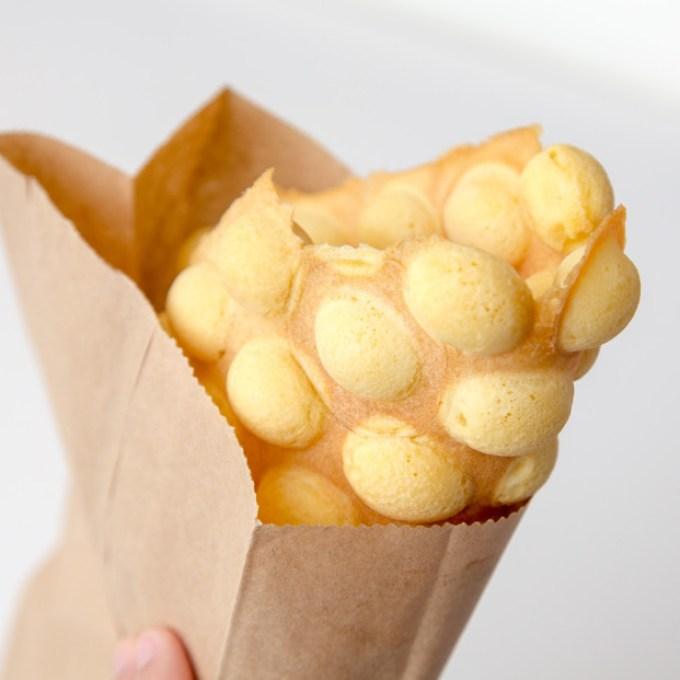 Hong Kong Egg Waffle | The Missing Lokness