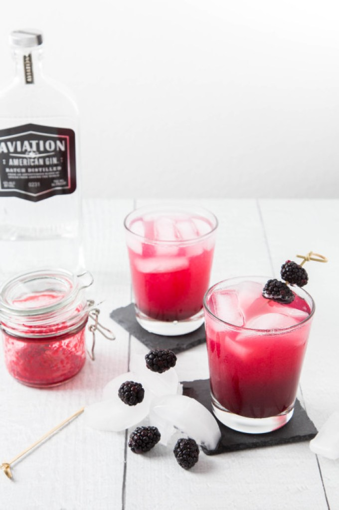 Blackberry-Ginger Gin Cocktail 3| The Missing Lokness