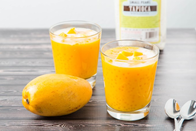 Tapioca Pearls with Mango 4| The Missing Lokness