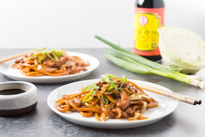 Stir-Fried Swiss Sauce Chicken Udon 1| The Missing Lokness