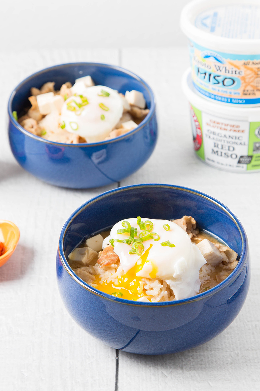Pork Belly Miso Soup with Rice #porkbelly #miso #soup #rice #egg #japaneserecipe #tofu #dinner #dinnerrecipe | The Missing Lokness