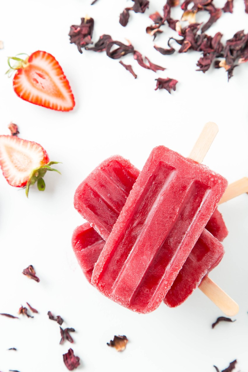 Strawberry Hibiscus Ice Pops 1  The Missing Lokness