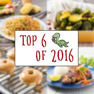 2016 Top 6 Recipes