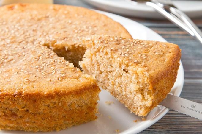 Quesadilla Salvadorena (Salvadorian Sweet Cake)