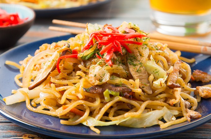 Yakisoba with Pork Belly