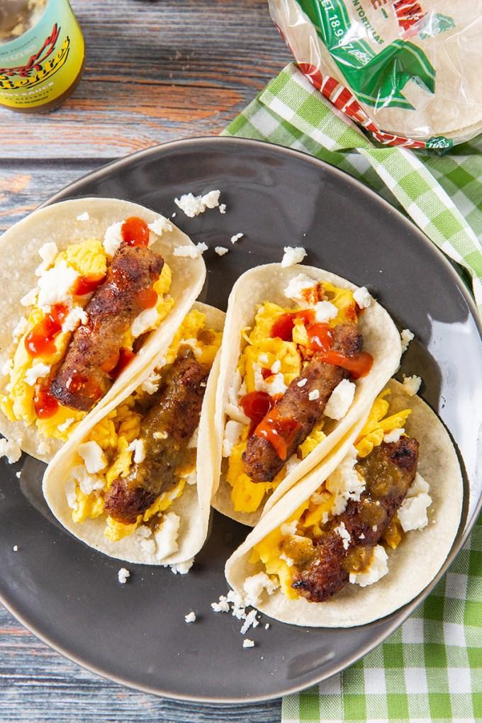 The Easiest Breakfast Tacos #breakfast #tacos #egg #breakfastrecipe #easyrecipe | The Missing Lokness