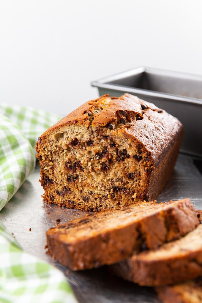 Chocolate Chip Banana Bread The Missing Lokness