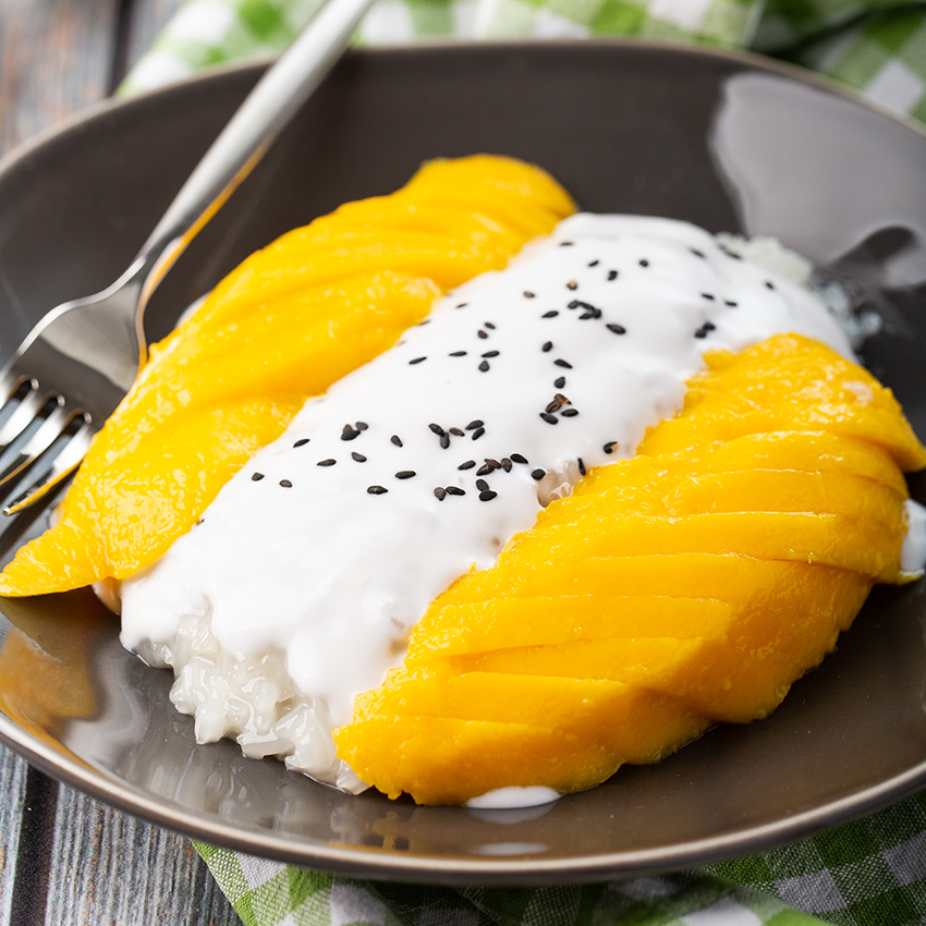 Mango Sticky Rice | The Missing Lokness