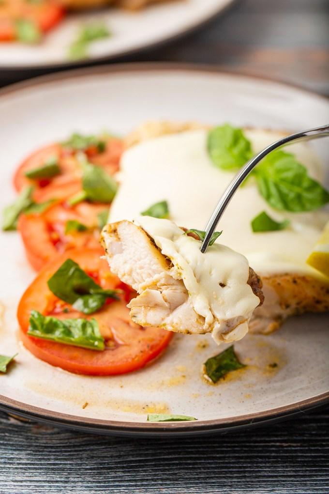 One-Pot Cooking For Two Cookbook #bruschetta #chicken #mozzarella #tomato #basil #baked #dinnerfortwo #easyrecipe #dinner #dinnerrecipe | The Missing Lokness