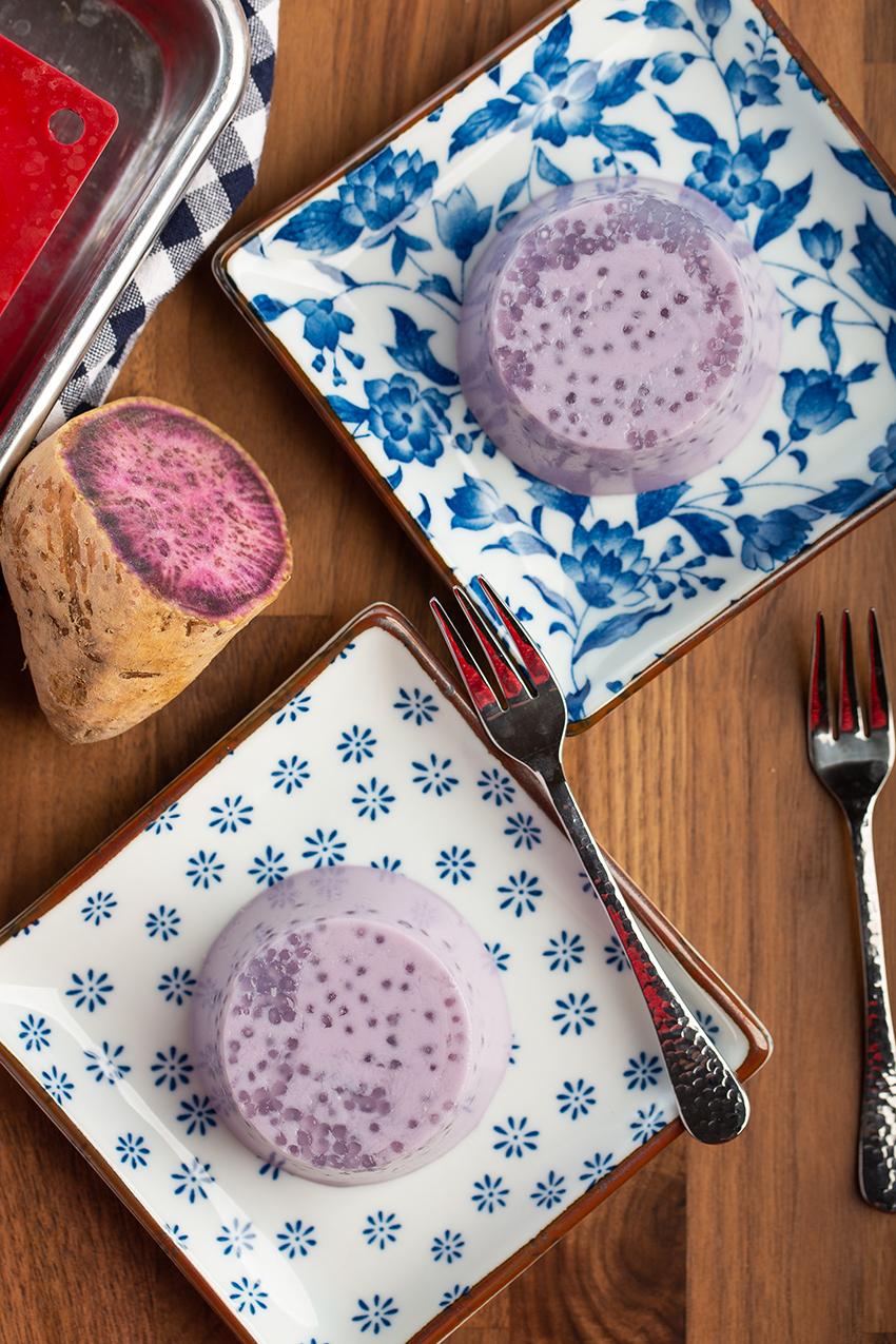 Purple Sweet Potato Tapioca Pudding #purplesweetpotato #coconutmilk #tapiocapearl #sago #pudding #purplefood #chinesenewyear #hongkong #nobake #makeahead #dessert #dessertrecipe | The Missing Lokness