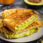 Avocado Grilled Cheese Sandwiches #avocado #grilledcheese #sandwich #cheese #lunch #dinner #easyrecipe #dinner #dinnerrecipe | The Missing Lokness