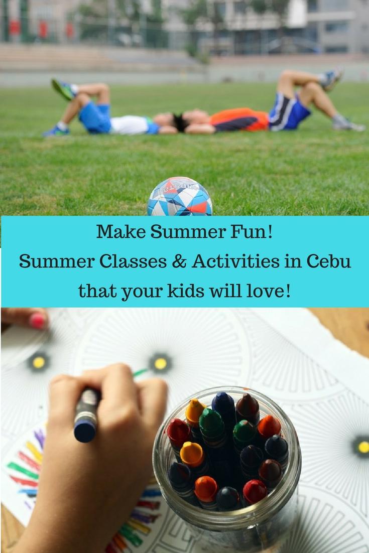 Kiddie Summer Classes in Cebu 2017