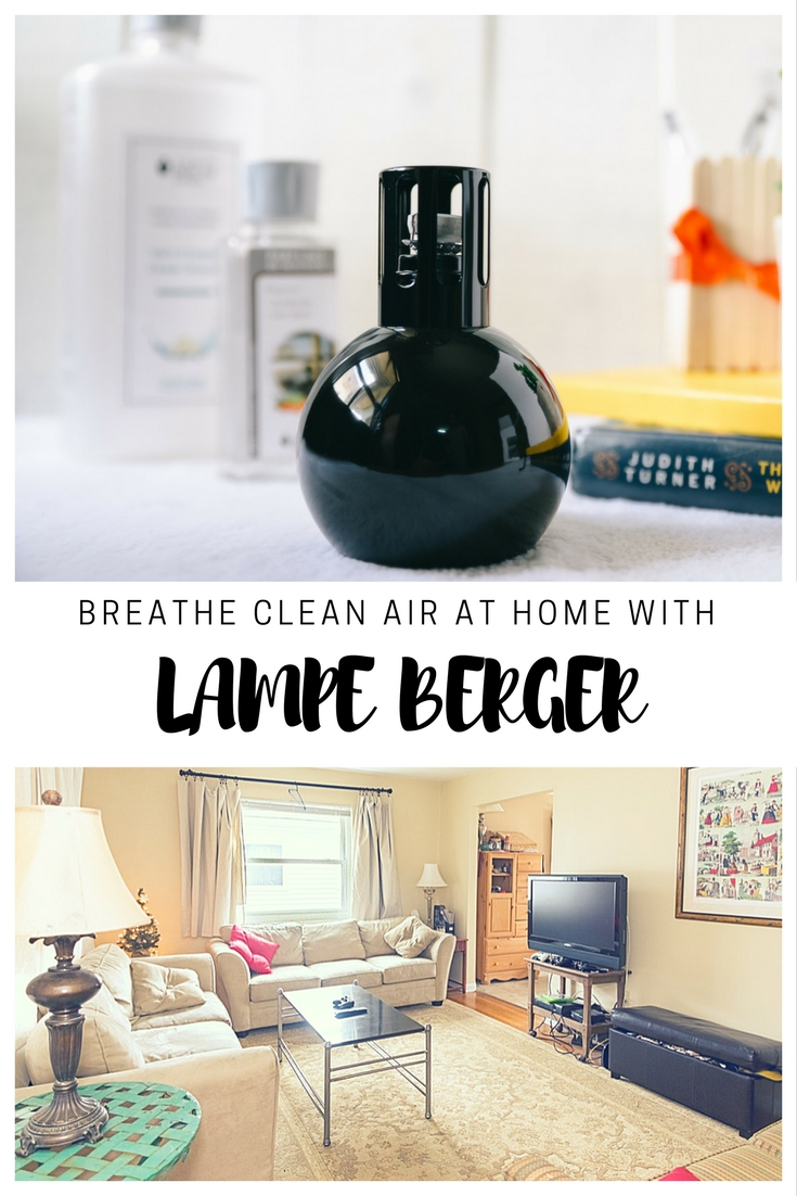 Cleaner Air At Home with Lampe Berger
