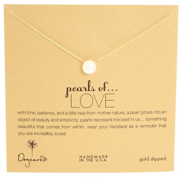 Gifts for the Woman Who Wants Nothing - Pearls of Love Necklace