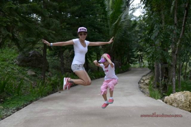 Cebu Safari and Adventure Park - Jump Shot