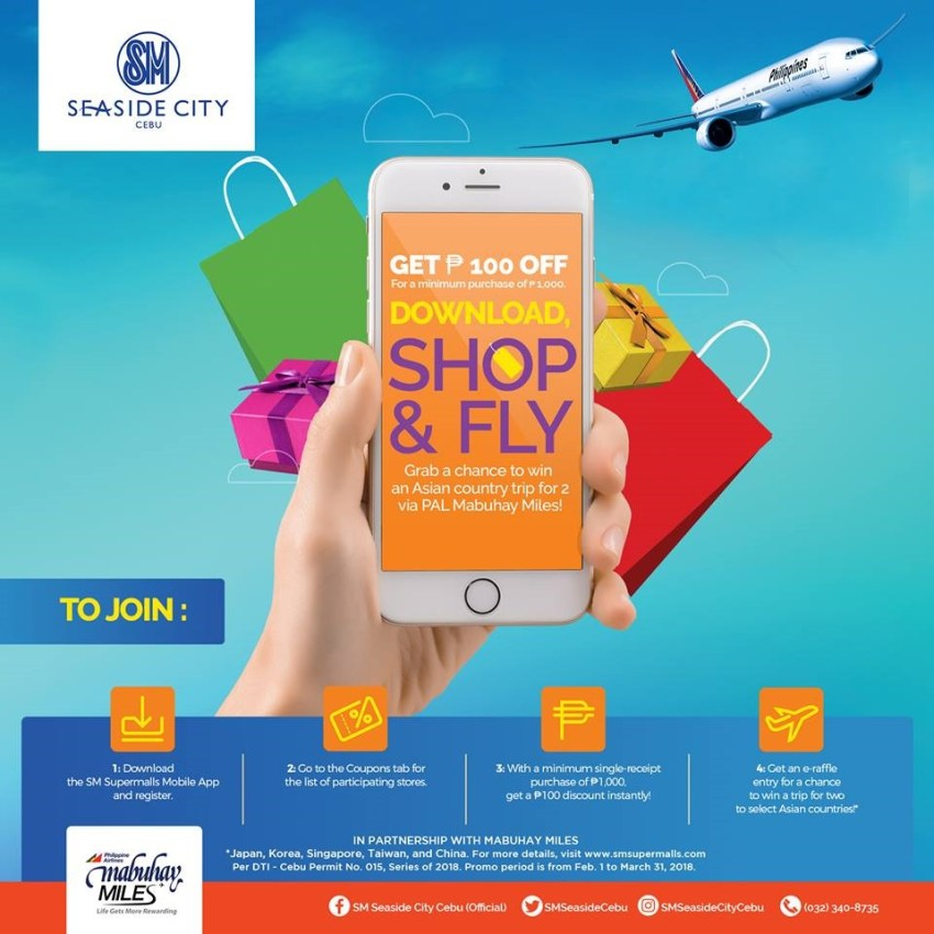 Experience Asia with SM Supermall's Mobile App!