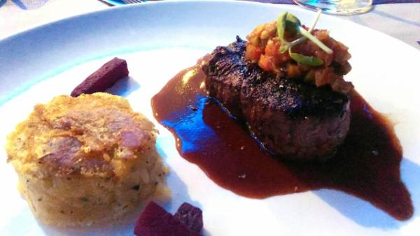 Valentine's Day Dinner in the most Romantic Restaurant in Cebu - Certified Angus Beef Tenderloin
