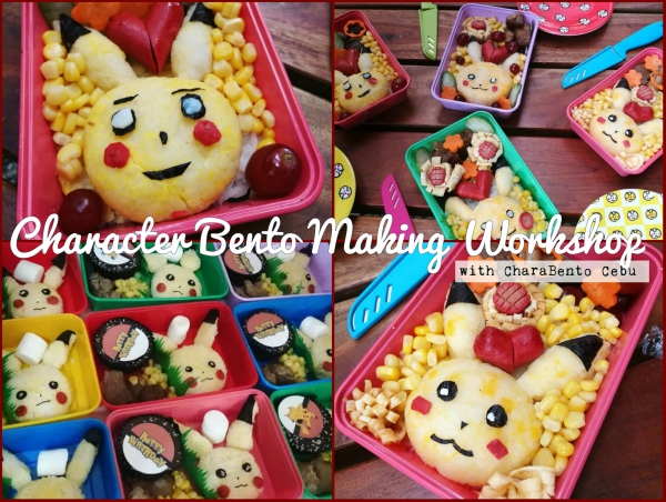 2018 Summer Classes in Cebu - Bento Making Workshop
