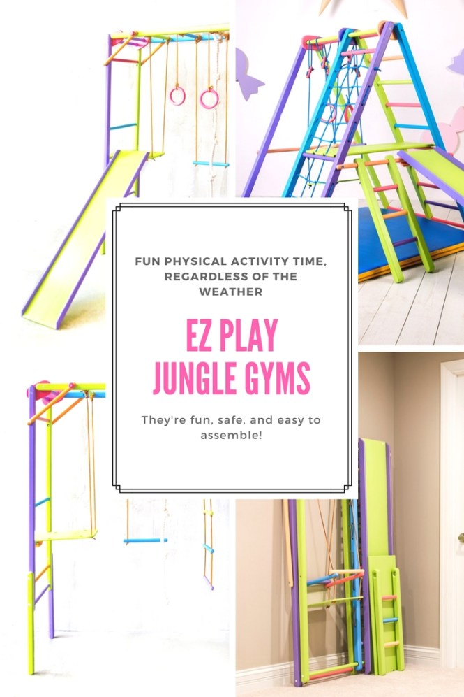 Create Your Own Kids Indoor Playground at Home! - EZPlay Jungle Gyms