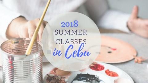 Summer classes in cebu for 2018