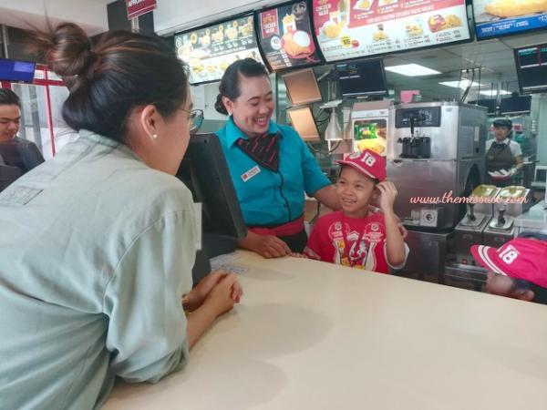 McDonald's Kiddie Crew Workshop - Counter Duties