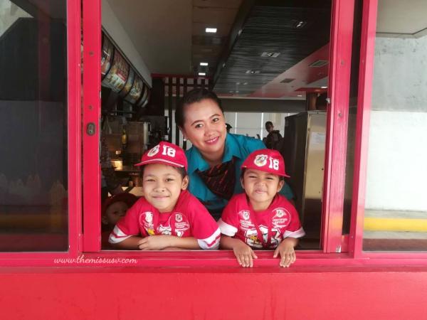 McDonald's Kiddie Crew Workshop-Drive Thru