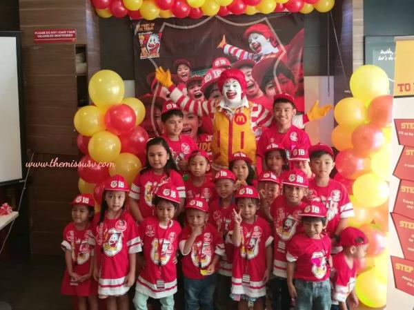 McDonald's Kiddie Crew Workshop - The Graduates