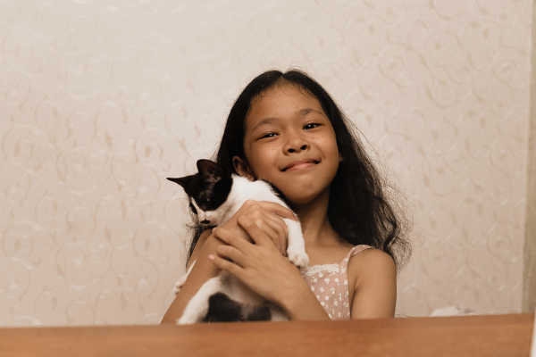 What to prepare before you adopt a cat - Lily and her human