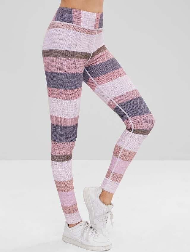 Color Block High Waisted Leggings