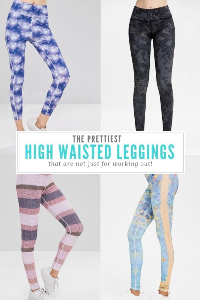 High Waisted Leggings