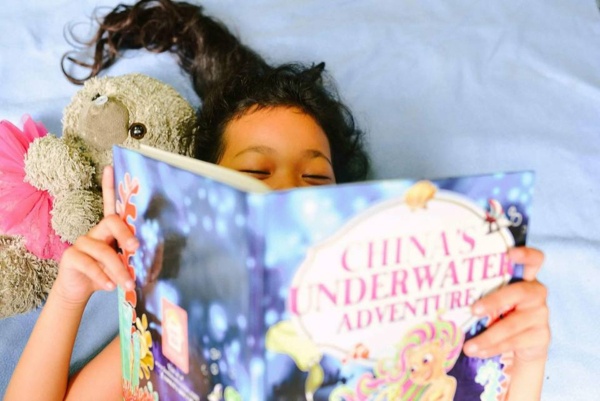 Rainy Day Family Activities - Reading Personalized Books
