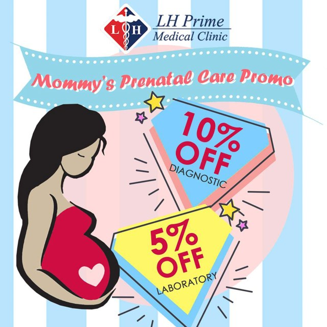 Prenatal Promo Cebu - LH Prime Medical Clinic