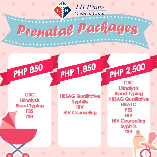 LH Prime Medical Clinic Prenatal Packages- What to do after a c-section
