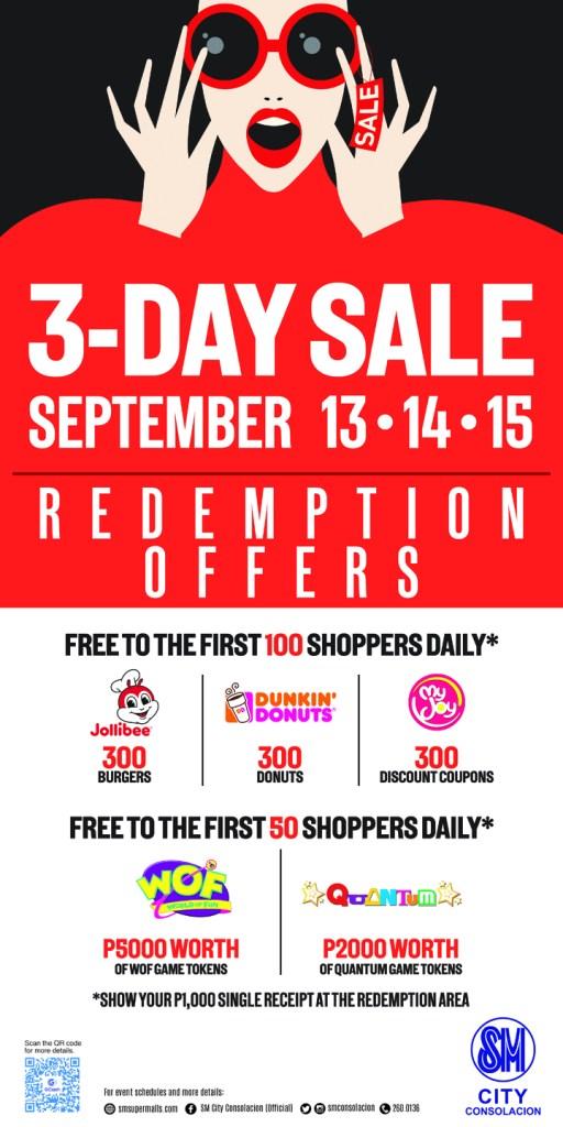 SM City Consolacion 3 - Day Sale