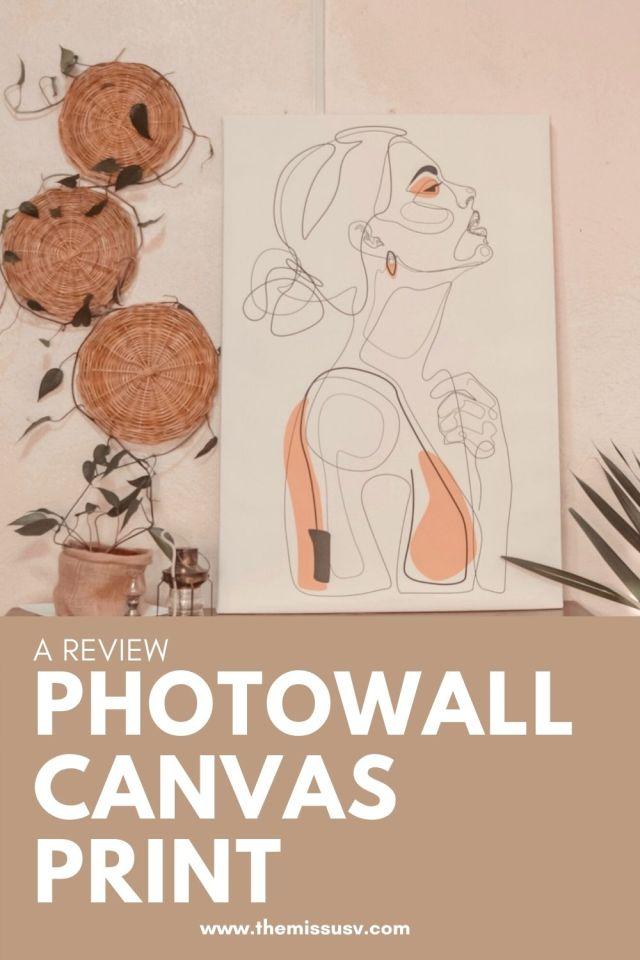Photowall Canvas Print Review - Color Beauty Canvas Print