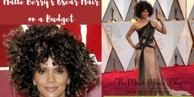 Halle Berry Oscar's Hair on a Budget