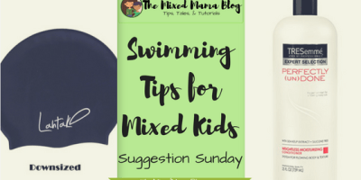 Swimming Tips for Mixed Kids _ Suggestion Sunday - by TheMixedMamaBlog