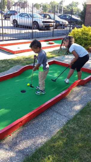 Mini Golf at Adventure Landing _ Family Fridays 2