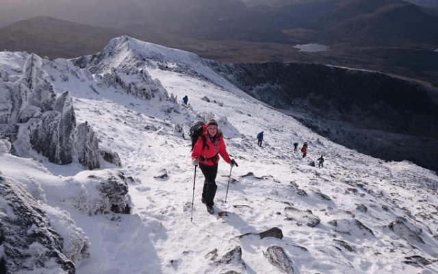 Winter walking and winter mountaineering