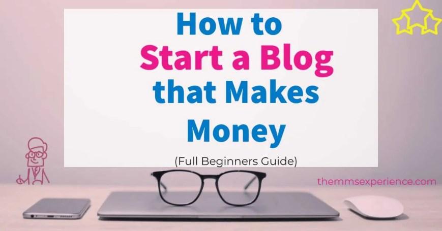 So starten Sie einen Blog, der 2021 Geld verdient