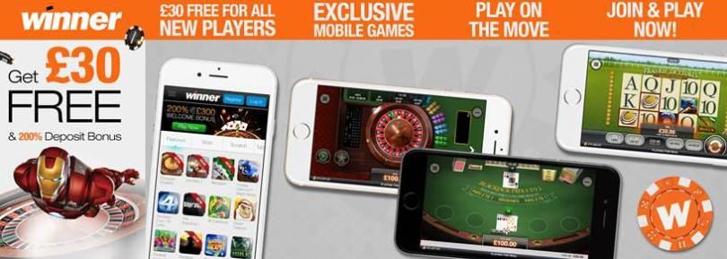 winner mobile casino
