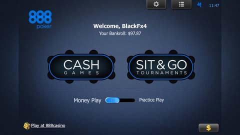 888 mobile poker real money menu