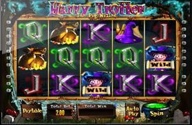 harry trotter mobile slot screenshot