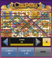 cleopatra mobile slots win