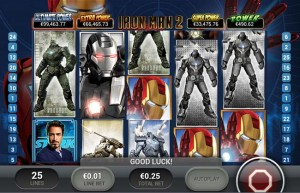 iron man mobile slots reels