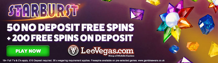 Mobile casino no deposit LeoVegas
