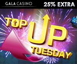 top up bonus at gala mobile casino